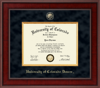 University of Colorado Denver Diploma Frame - Presidential Masterpiece Diploma Frame in Jefferson