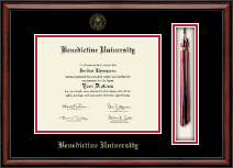 Benedictine University Diploma Frame - Tassel Edition Diploma Frame in Southport