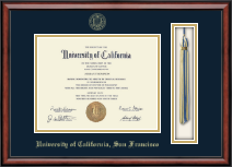 University of California San Francisco Diploma Frame - Tassel Edition Diploma Frame in Southport