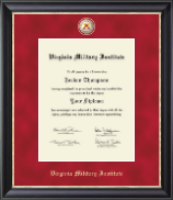Virginia Military Institute Diploma Frame - Regal Edition Diploma Frame in Noir