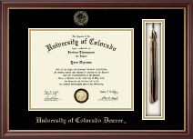 University of Colorado Denver Diploma Frame - Tassel Edition Diploma Frame in Newport