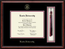 Lewis University Diploma Frame - Tassel Edition Diploma Frame in Southport