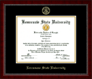Kennesaw State University Diploma Frame - Gold Embossed Diploma Frame in Sutton