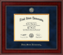 Utah State University Diploma Frame - Presidential Masterpiece Diploma Frame in Jefferson