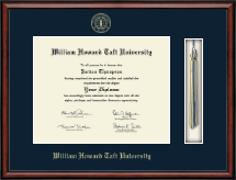 William Howard Taft University Diploma Frame - Tassel Edition Diploma Frame in Southport