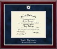 Shield Masterpiece Medallion Diploma Frame