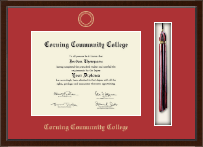 Corning Community College Diploma Frame - Tassel Edition Diploma Frame in Delta