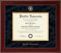 Pfeiffer University Diploma Frame - Presidential Masterpiece Diploma Frame in Jefferson