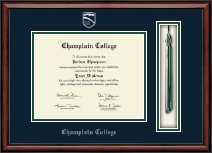 Champlain College Diploma Frame - Tassel Edition Diploma Frame in Southport