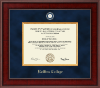 Rollins College Diploma Frame - Presidential Masterpiece Diploma Frame in Jefferson
