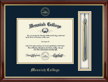 Messiah College Diploma Frame - Tassel Edition Diploma Frame in Southport Gold