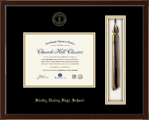 Elliott County High School Diploma Frame - Tassel Edition Diploma Frame in Delta