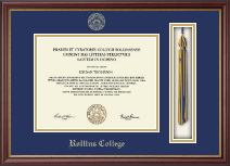 Rollins College Diploma Frame - Tassel Edition Diploma Frame in Newport