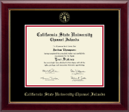 California State University Channel Islands Diploma Frame - Gold Embossed Diploma Frame in Gallery
