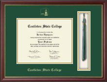 Castleton State College Diploma Frame - Tassel Edition Diploma Frame in Newport