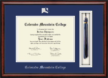 Colorado Mountain College Diploma Frame - Tassel Edition Diploma Frame in Southport
