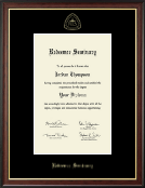 Redeemer Seminary Diploma Frame - Gold Embossed Diploma Frame in Studio Gold