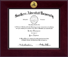 Southern Adventist University Diploma Frame - Century Gold Engraved Diploma Frame in Cordova