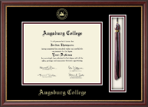 Augsburg College Diploma Frame - Tassel Edition Diploma Frame in Newport