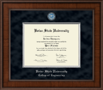 Boise State University Diploma Frame - Presidential Masterpiece Diploma Frame in Madison
