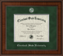 Cleveland State University Diploma Frame - Presidential Masterpiece Diploma Frame in Madison