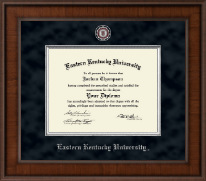 Eastern Kentucky University Diploma Frame - Presidential Masterpiece Diploma Frame in Madison