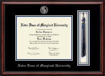 Notre Dame of Maryland University  Diploma Frame - Tassel Edition Diploma Frame in Southport