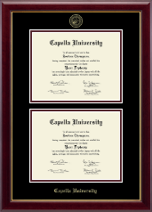 Capella University Diploma Frame - Double Diploma Frame in Gallery