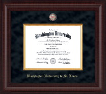 Washington University in St. Louis Diploma Frame - Presidential Masterpiece Diploma Frame in Premier