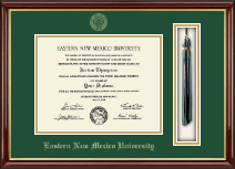 Eastern New Mexico University Diploma Frame - Tassel Edition Diploma Frame in Southport Gold