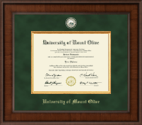 University of Mount Olive Diploma Frame - Presidential Masterpiece Diploma Frame in Madison