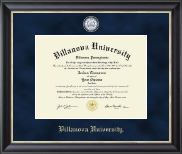 Villanova University Diploma Frame - Regal Edition Diploma Frame in Noir