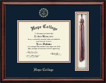 Hope College Diploma Frame - Tassel Edition Diploma Frame in Southport