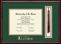 University of La Verne Diploma Frame - Tassel Edition Diploma Frame in Southport