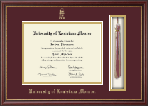 University of Louisiana Monroe Diploma Frame - Tassel Edition Diploma Frame in Newport
