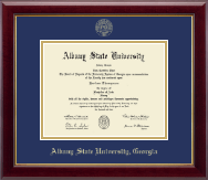 Albany State University in Georgia Diploma Frame - Gold Embossed Diploma Frame in Gallery