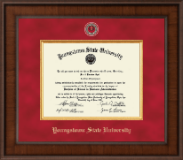 Youngstown State University Diploma Frame - Presidential Masterpiece Diploma Frame in Madison
