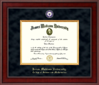 James Madison University Diploma Frame - Presidential Masterpiece Diploma Frame in Jefferson