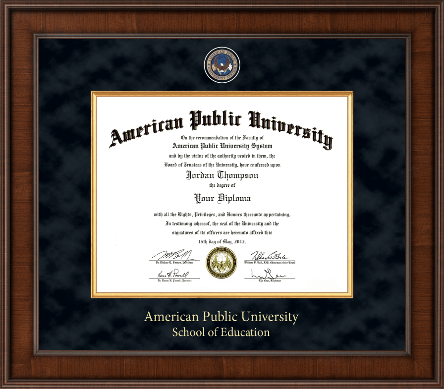 American public university presidential masterpiece for American classic frames