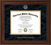 American Public University Diploma Frame - Presidential Masterpiece Diploma Frame in Madison