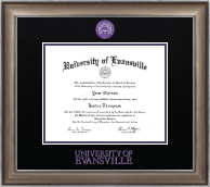 University of Evansville Diploma Frame - Dimensions Diploma Frame in Easton