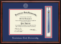 Louisiana Tech University Diploma Frame - Tassel Edition Diploma Frame in Southport