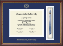 Immaculata University Diploma Frame - Tassel Edition Diploma Frame in Newport