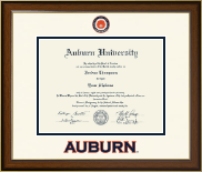 Auburn University Diploma Frame - Dimensions Diploma Frame in Westwood