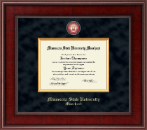 Minnesota State University Moorhead Diploma Frame - Presidential Masterpiece Diploma Frame in Jefferson