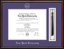 New York University Diploma Frame - Tassel Edition Diploma Frame in Southport