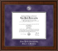 New York University Diploma Frame - Presidential Masterpiece Diploma Frame in Madison