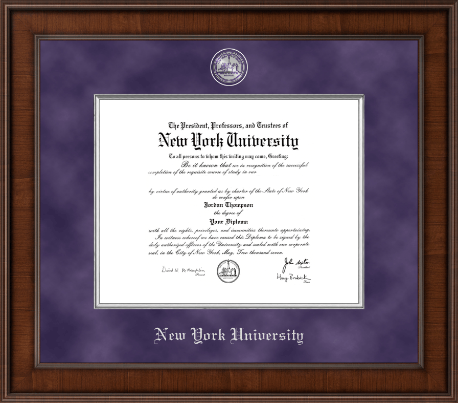 new york university diploma frames church hill classics new york university diploma frame presidential masterpiece diploma frame in madison