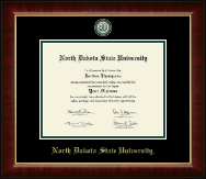 North Dakota State University Diploma Frame - Masterpiece Medallion Diploma Frame in Murano