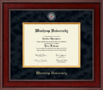Winthrop University Diploma Frame - Presidential Masterpiece Diploma Frame in Jefferson